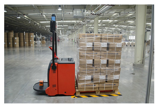 Laser Guided Forklift The Agv Danbach Industrial Robot